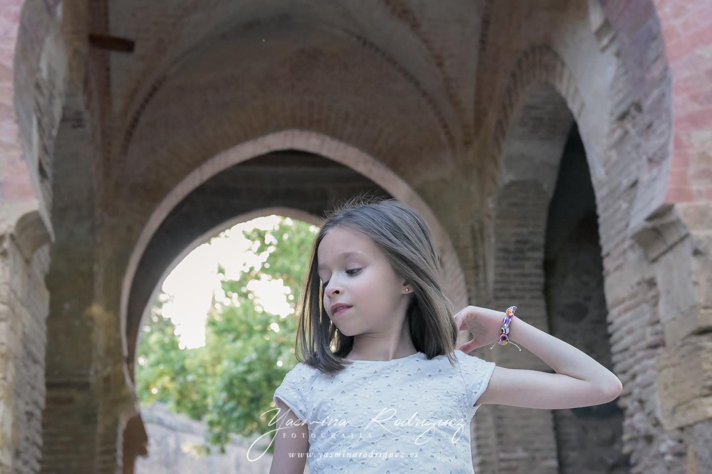 fotografía infantil alhambra
